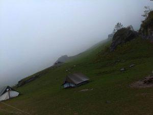 Bhandak Thatch camp