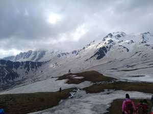Sar Pass Trek Summit