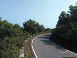 Gokarna Om Beach Road