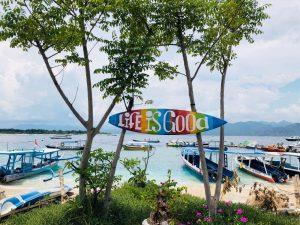 Bali Boat Ride View