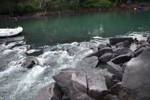 Natural Jacuzzi in Kali River