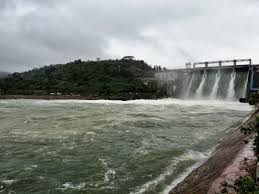 Bhadra Dam Reservoir
