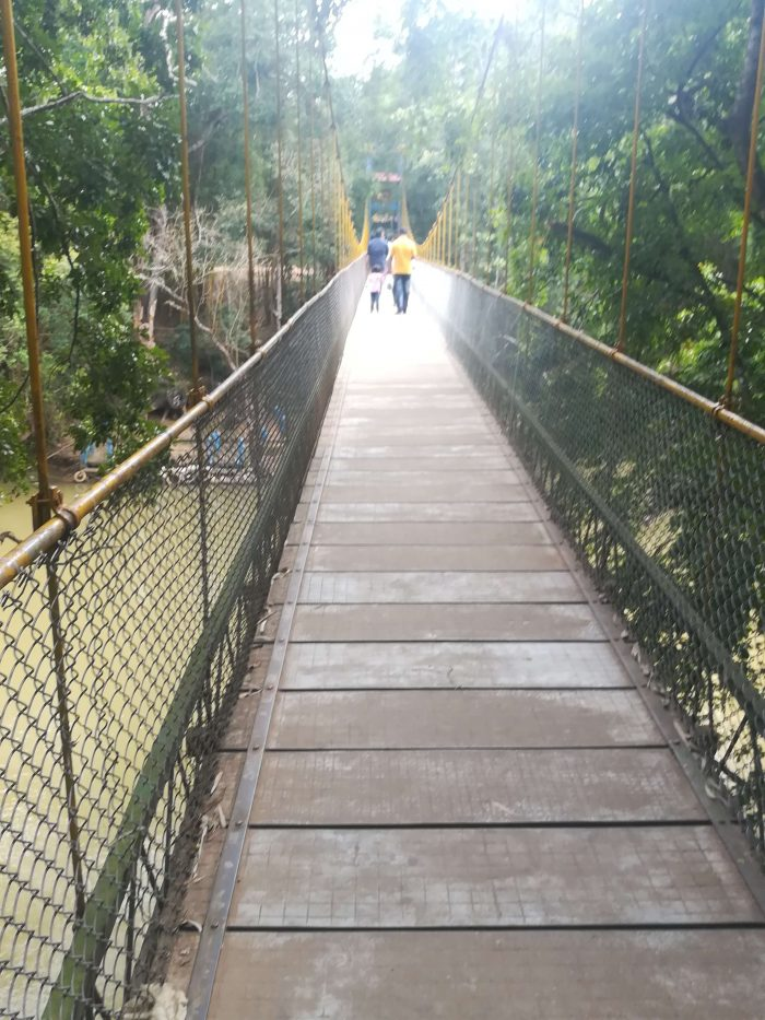 Nisargadhama Hanging bridge