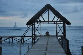 Mauritius Cabin Couple view