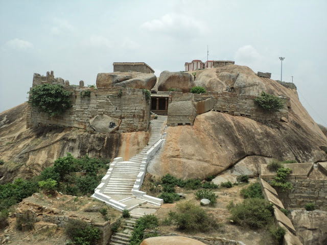 Gudibande Fort view